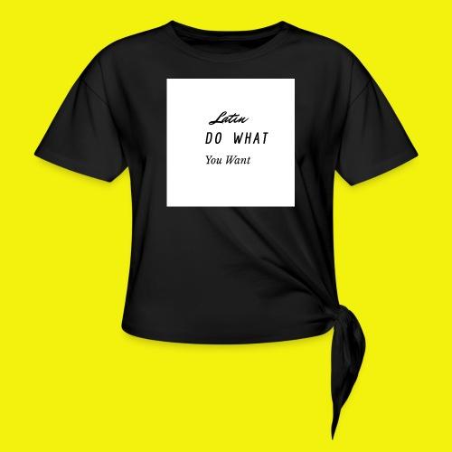newproject 1 original - Camiseta con nudo