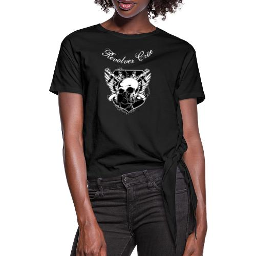 rEvolver Crest - Women's Knotted T-Shirt