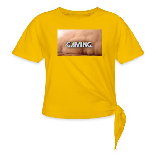 GamingDust LOGO - Knotted T-Shirt