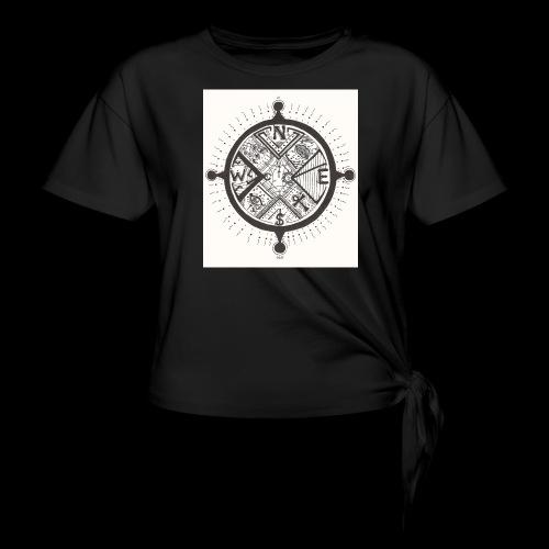 La Maison Des Mains Angel Cove - Women's Knotted T-Shirt