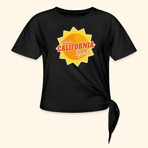 California Spirit Radioshow - T-shirt à nœud