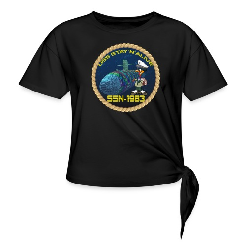 Command Badge SSN-1983 - Knotted T-Shirt