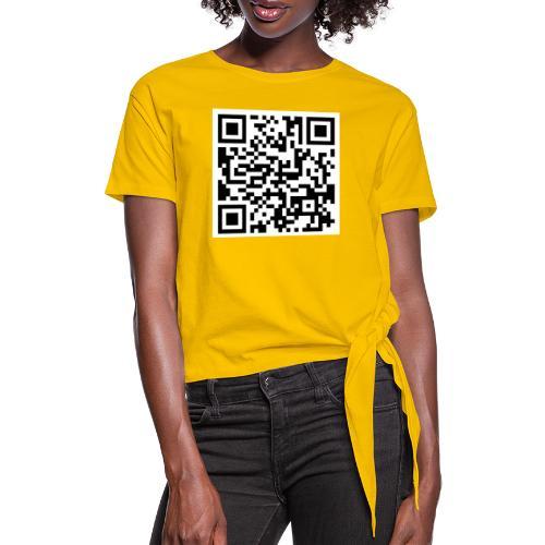 QR ECI UBI2020 - Vrouwen Geknoopt shirt