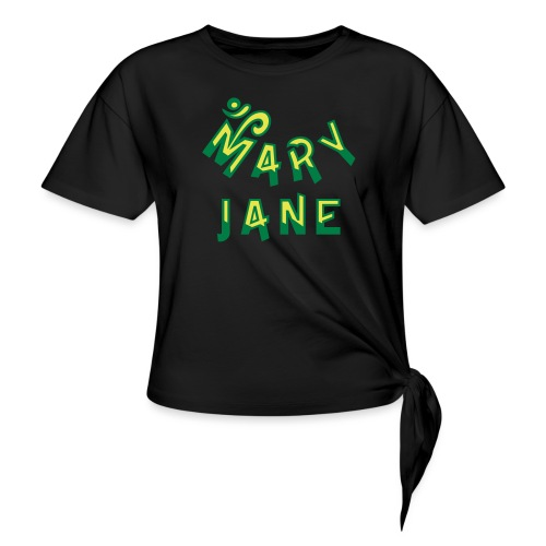 Mary Jane - Knotted T-Shirt