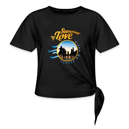 Tanzen_Shirtmotiv_D - Knotenshirt