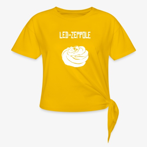 Led - zeppole - Maglietta annodata da donna