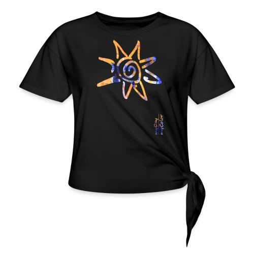 myDay SommerSonne - Frauen Knotenshirt