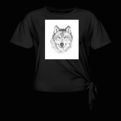 Wolf - Dame knot-shirt