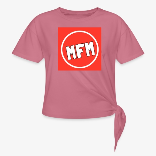 MrFootballManager Clothing - Women's Knotted T-Shirt