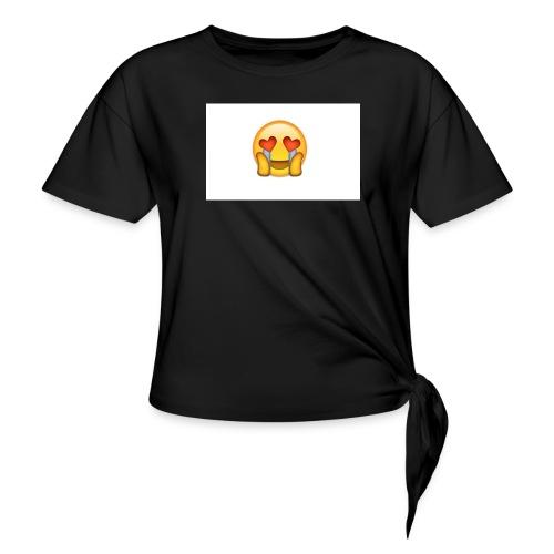 Emoij Hoesje - Vrouwen Geknoopt shirt