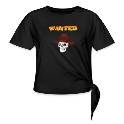 WANTED AR - Camiseta con nudo