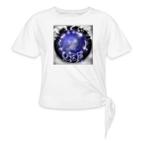 Hyperspace potato Blue Orb - Knotted T-Shirt