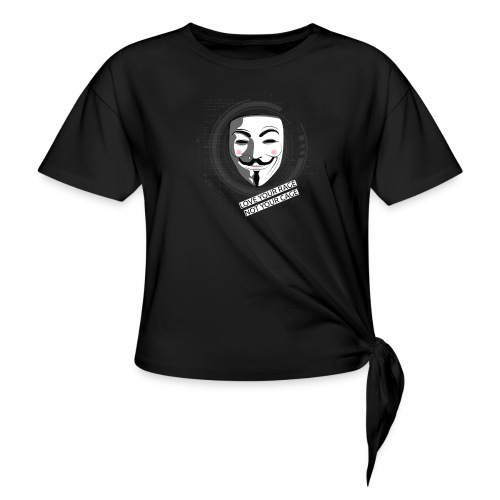 Anonymous Love Your Rage - Women's Knotted T-Shirt