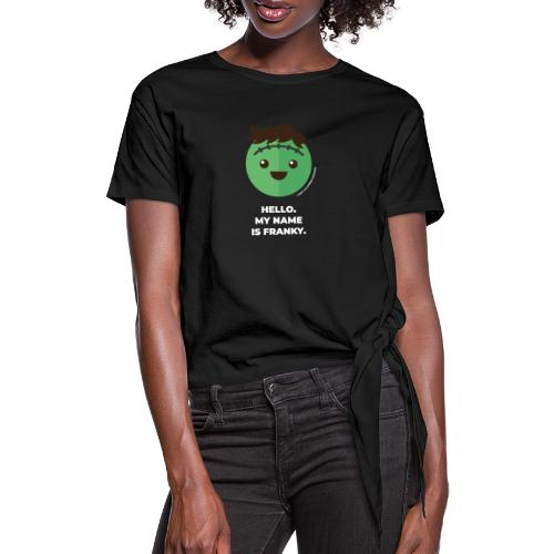 Frankenstein - Halloween Flirt Monster - Knotenshirt