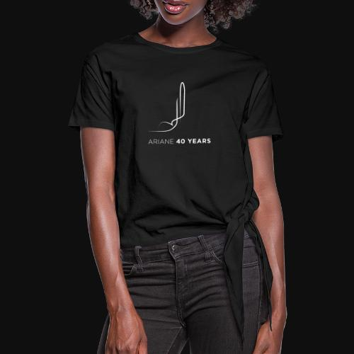 Ariane 40 years - Knotted T-Shirt