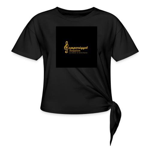 Bumperniggel Session - Frauen Knotenshirt
