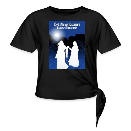 Bal Renaissance - Danse Medievale - Frauen Knotenshirt