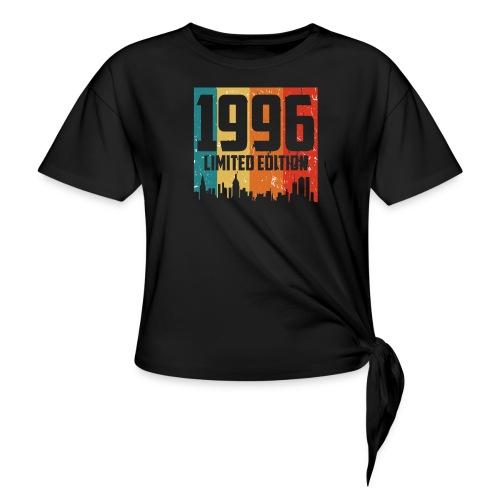 Vintage Geburtstag Limited Edition Jahrgang 1996 - Frauen Knotenshirt
