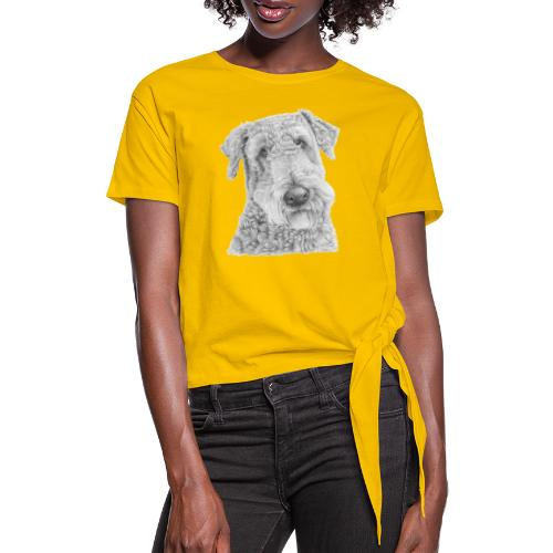 airedale terrier - Dame knot-shirt