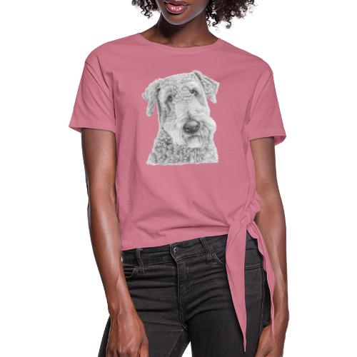 airedale terrier - Knot-shirt