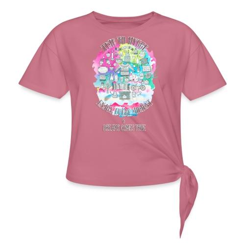 Time to Hygge - T-shirt à nœud