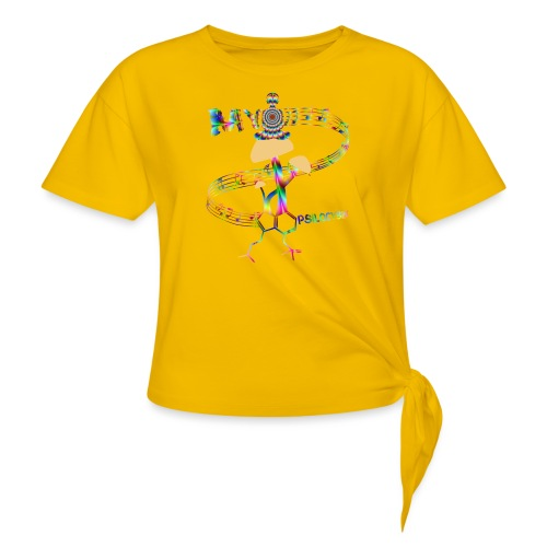 My Psilocybin (Psychadelic) - T-shirt med knut dam