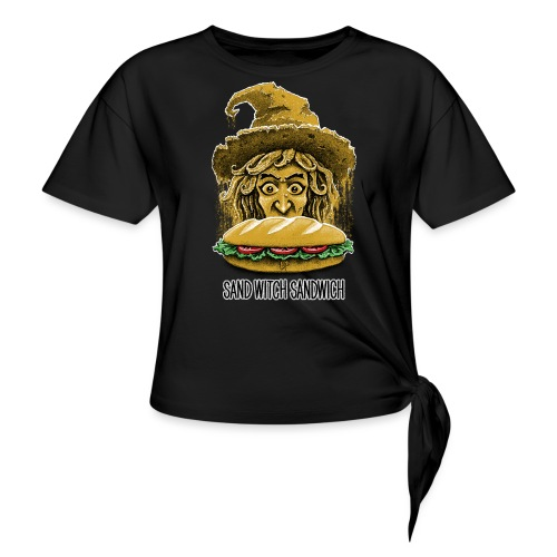 Sand Witch Sandwich V1 - Knotted T-Shirt