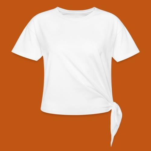 Skater / Skateboarder 03_weiß - Knotenshirt