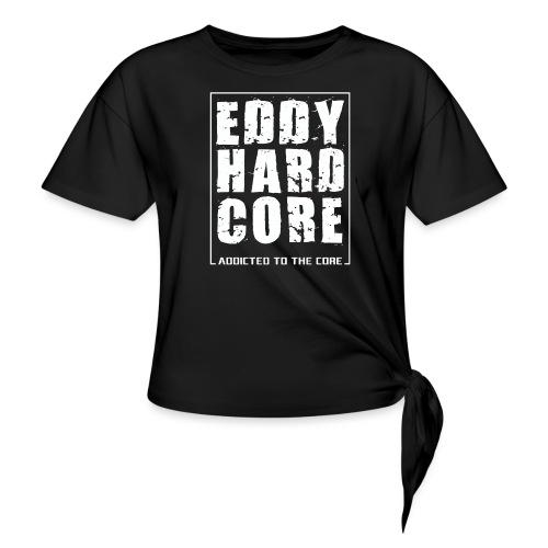 EddyHardcore ATTC square - Vrouwen Geknoopt shirt