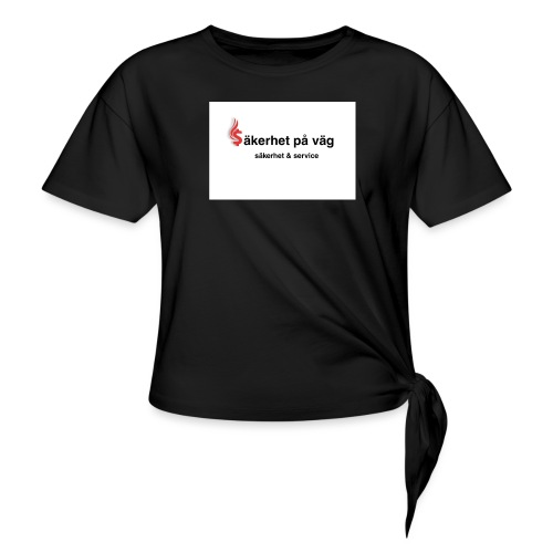 SakerhetPaVag - T-shirt med knut dam