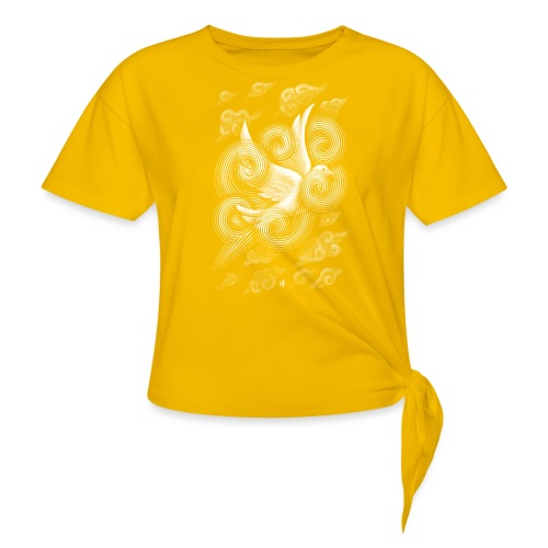 Crossing Clouds - Knotted T-Shirt