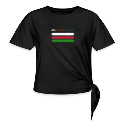 Je Suis Gaza - Dame knot-shirt