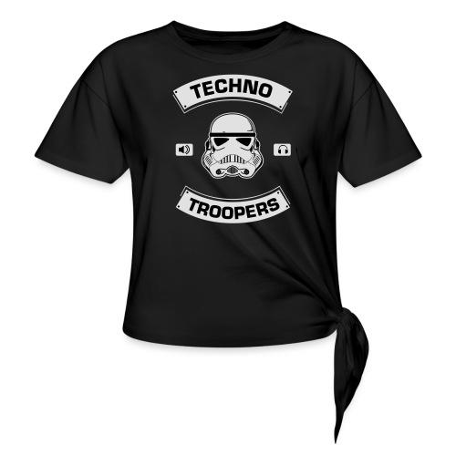 techno troopers - Knotenshirt