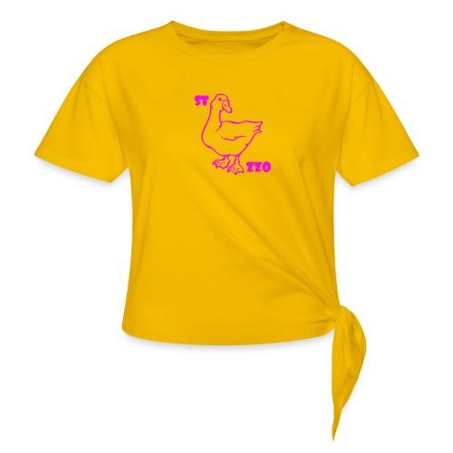 REBUS...STOCAZZO - Maglietta annodata da donna