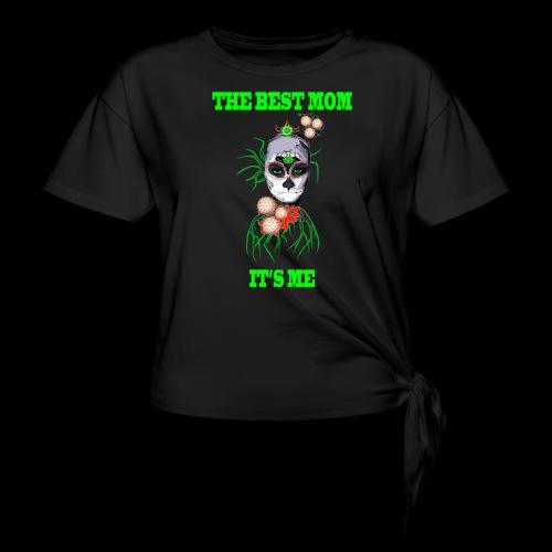 LA MEILLEURE MAMAN C'EST MOI - T-shirt à nœud