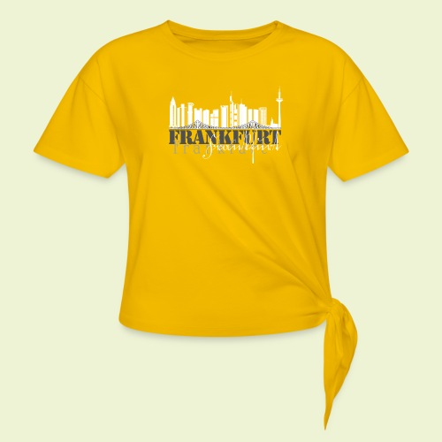 FFM - Frankfurt Skyline - Knotenshirt