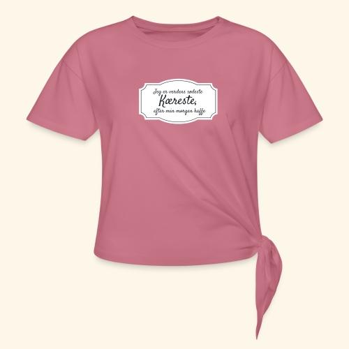 Verdens sødeste kæreste - Dame knot-shirt