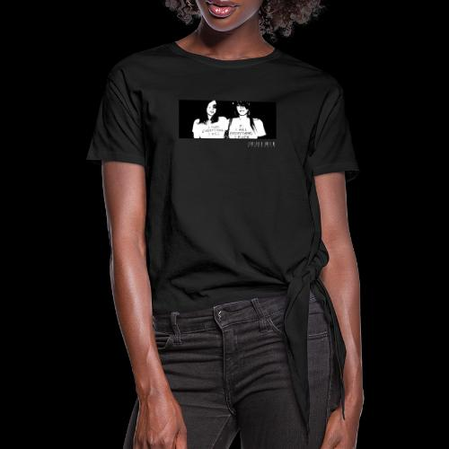 HYDRAULIX PARTY GIRLS - Women's Knotted T-Shirt