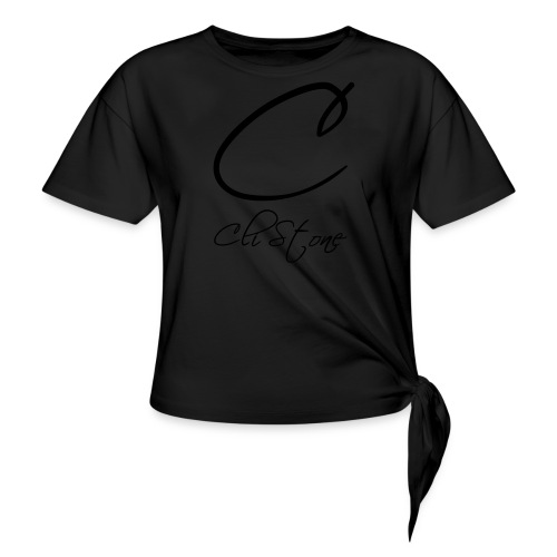 Cli Stone - Knotted T-Shirt