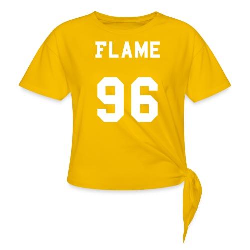 maglietta_flame_96 - Maglietta annodata da donna