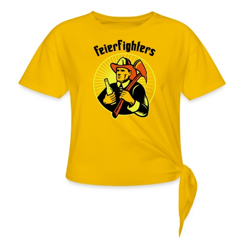 feierfighters - Frauen Knotenshirt