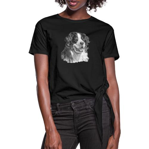 Bernese mountain dog - Dame knot-shirt
