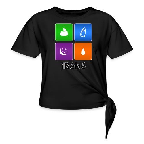 iBébé - T-shirt à nœud