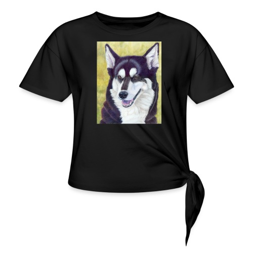 Siberian husky - Knot-shirt