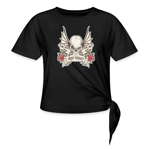 Group Therapy T-Shirt - Knotted T-Shirt
