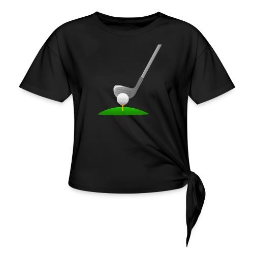 Golf Ball PNG - Camiseta con nudo