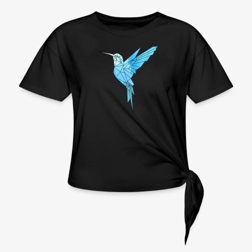 Kolibri Geometrisch - Knotenshirt