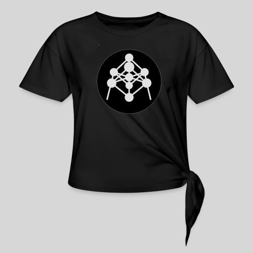 Atomium - T-shirt à nœud Femme