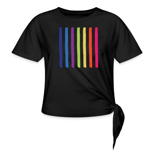 Lines - Knotted T-Shirt