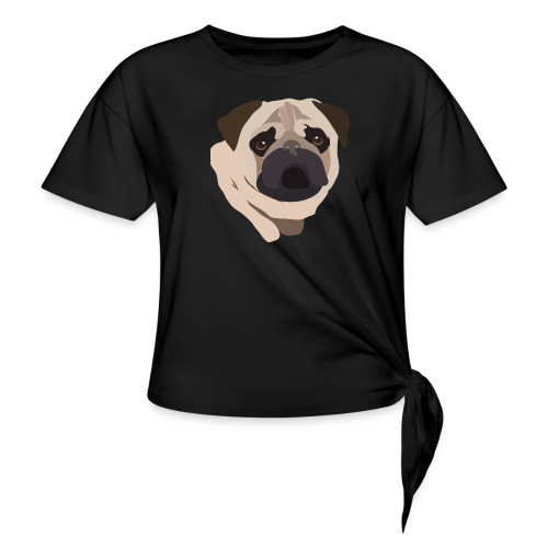 Pug Life - Knotted T-Shirt